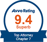 9.4 Superb Avvo Rating